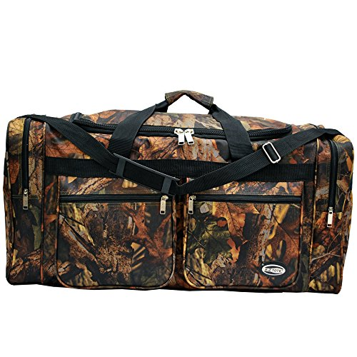 "0766544817817 - ""E-Z TOTE"" 30"" REAL TREE PRINT HUNTING DUFFEL BAG IN 5 COLORS (BLACK TRIM)"