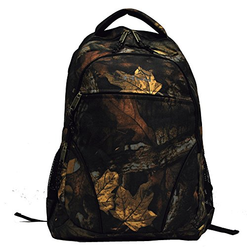 0766544817961 - E-Z TOTE REAL TREE PRINT HUNTING BACKPACK IN 5 COLORS (BLACK TRIM)