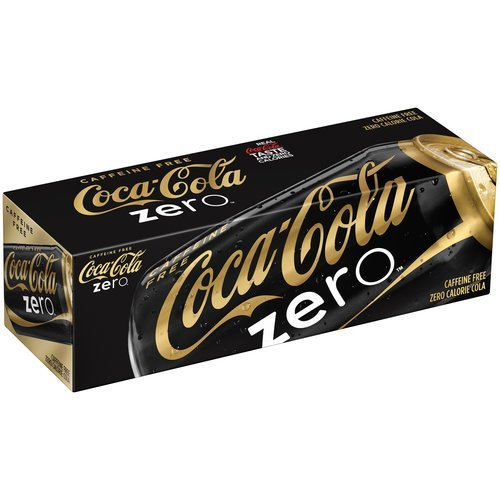 0767563927631 - CAFFEINE FREE COKE ZERO 12 PACK OF 12 OUNCE CANS