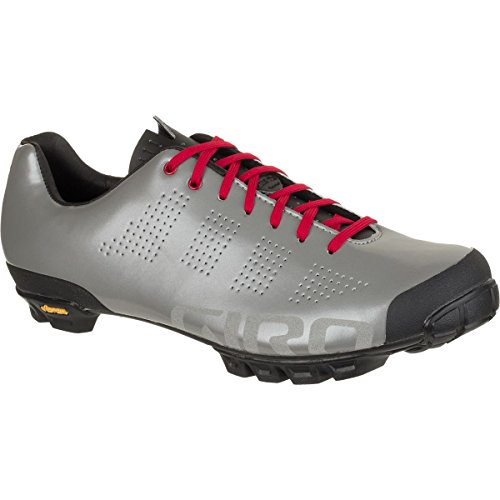 0768686738050 - GIRO EMPIRE VR90 LIMITED EDITION CYCLING SHOES - MEN'S DARK SHADOW/SILVER, 42.5