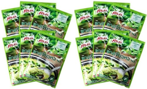 0773821849522 - 12 PACKAGE KNORR GREEN CURRY THAI FOOD MADE IN THAILAND