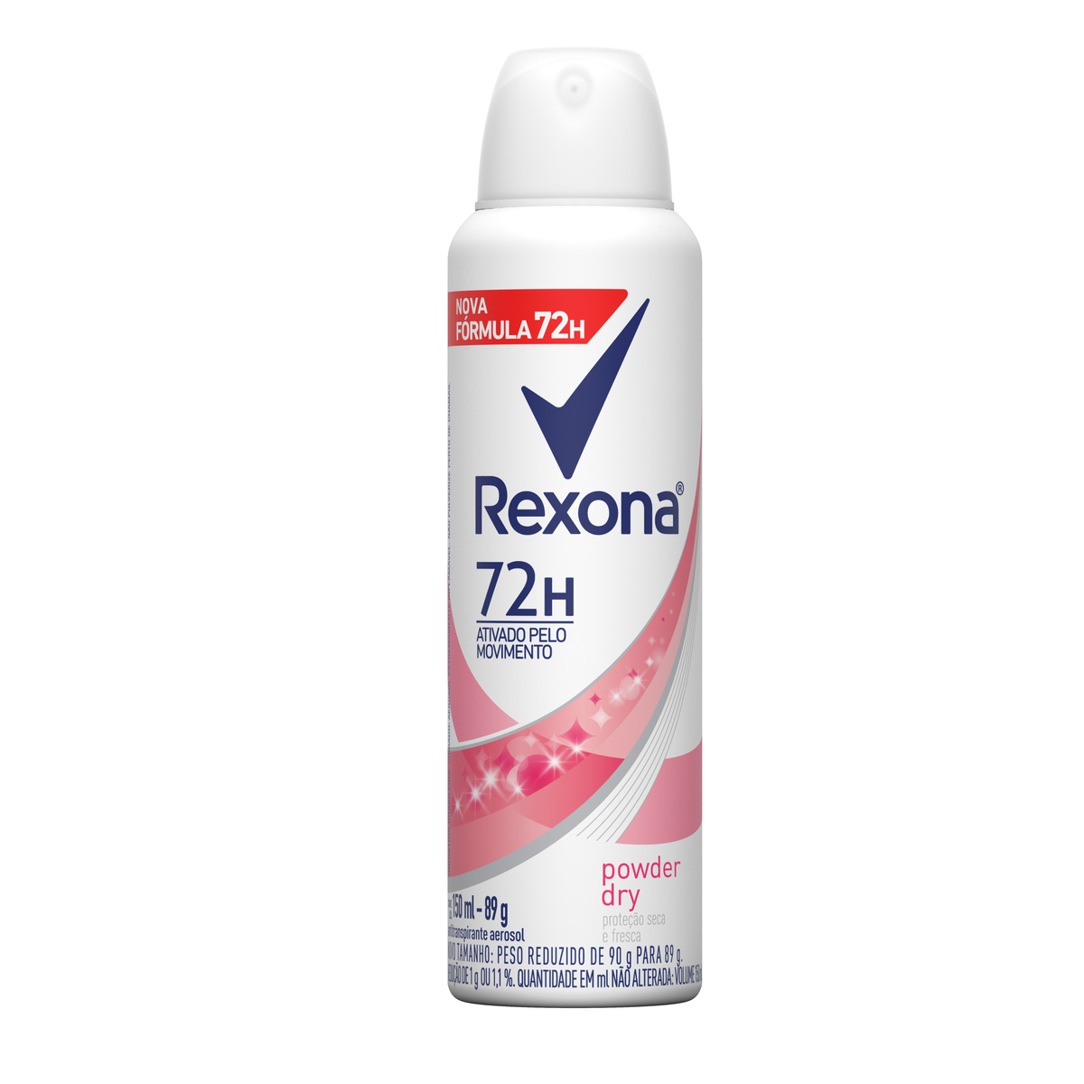 7791293032436 - ANTITRANSPIRANTE AEROSSOL POWDER DRY REXONA MOTIONSENSE 150ML