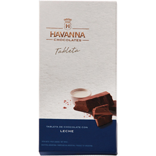 7791875000051 - BARRA DE CHOCOLATE AO LEITE HAVANNA