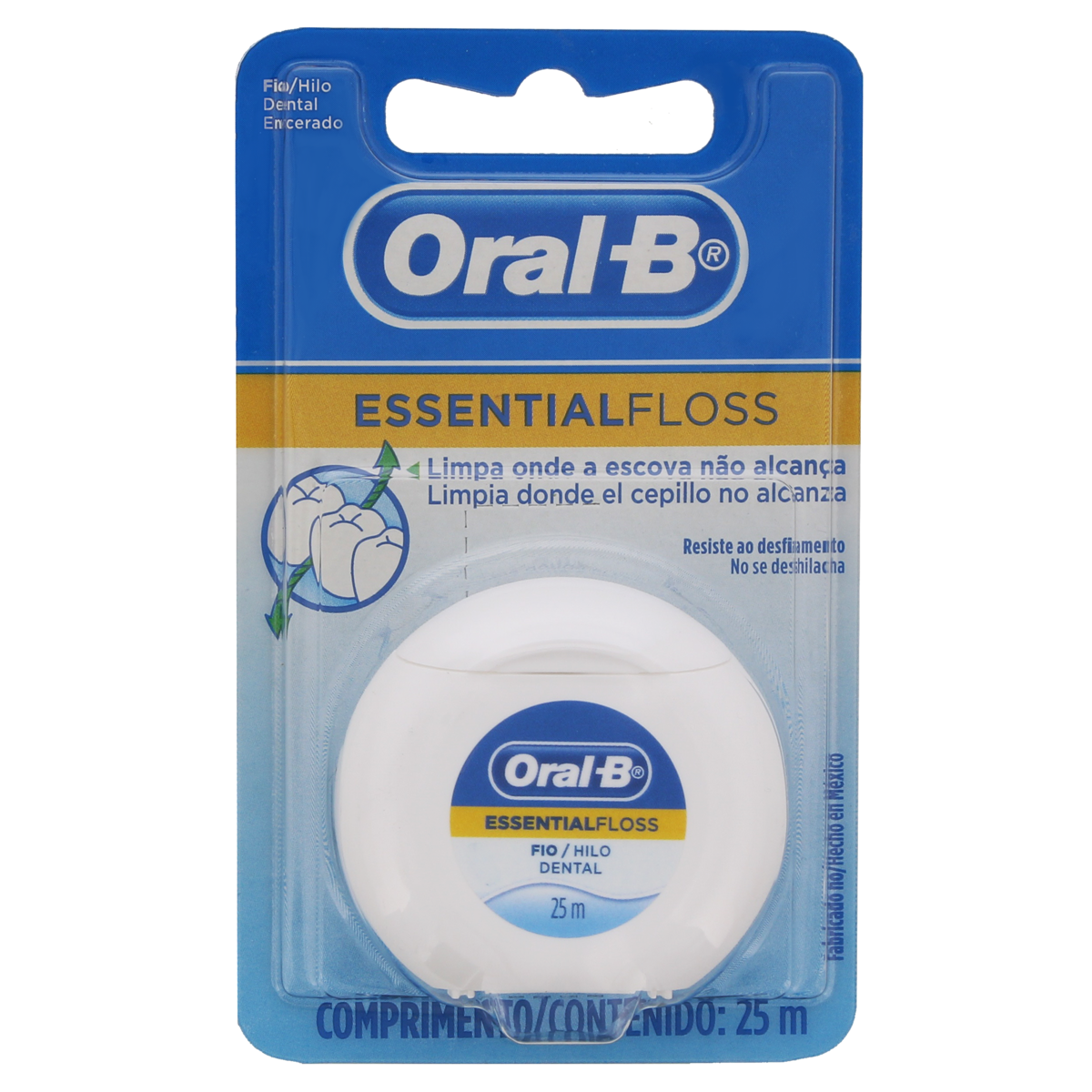 7800005081027 - FIO DENTAL ESSENTIALFLOSS ORAL-B 25M