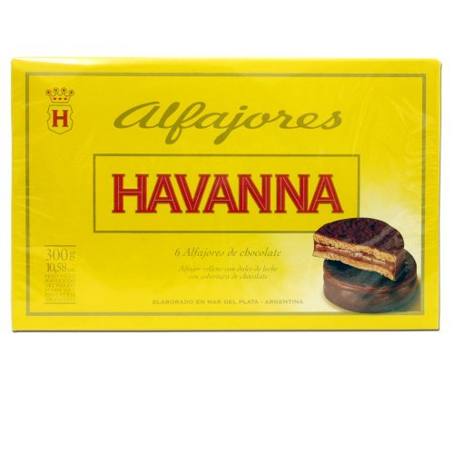 0781068687159 - HAVANNA LUXURY ALFAJORES MILK CHOCOLATE X 6 BY HAVANNA