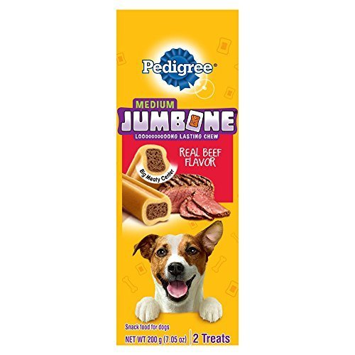 0781163829379 - PEDIGREE JUMBONE SMALL / MEDIUM DOG SNACKS, 7.05OZ.-2CT. (PACK OF 12) BY PEDIGREE