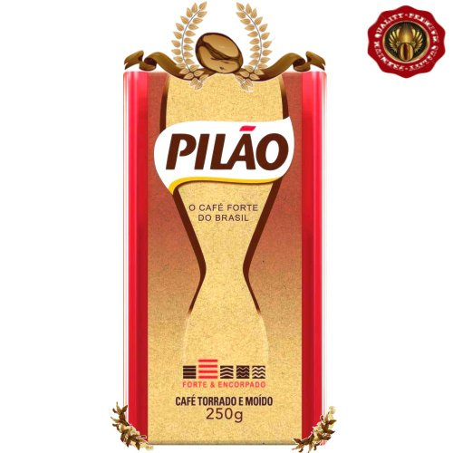 7812973812732 - 1 X CAFÉ PILÃO | THE FULL-BODIED COFFEE FROM BRAZIL - MEDIUM DARK ROAST 250G