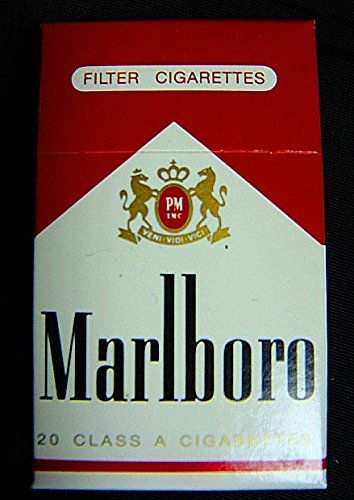 0781761491855 - VINTAGE 1988 MARLBORO VERY RARE FLIP UP TOP MINIATURE BOX WITH 30 WOODEN STICK MATCHES-MADE IN GERMANY-NEW AND UNOPENED