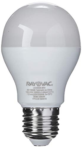 0783094061538 - LAMP LED RAYOVAC BULBO 6W BIVOLT