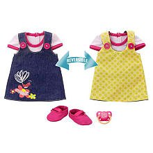 0783329028367 - BABY ALIVE 2 IN 1 REVERSIBLE OUTFIT ADORABLE IN DENIM (FOR MY BABY ALIVE, MY ...