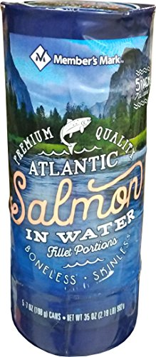 0078421038087 - MEMBER'S MARK ATLANTIC SALMON (5 PACK-7 OZ), 35 OUNCE