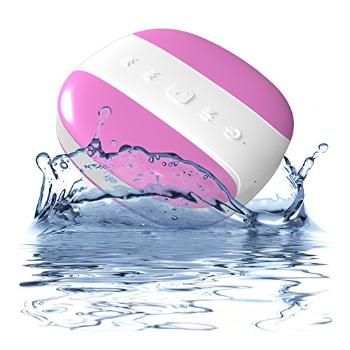 0784672310932 - MÉLODIE BY DYNAMIQUE - PORTABLE WIRELESS BLUETOOTH SHOWER SPEAKER FOR CAR OR HOUSE - WITH BUILT-IN MICROPHONE - 2 YEAR WARRANTY - WATER RESISTANT IPX4