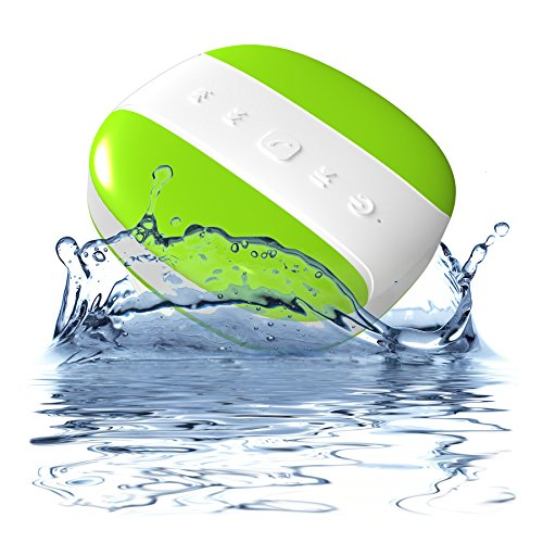 0784672310949 - MÉLODIE BY DYNAMIQUE - PORTABLE WIRELESS BLUETOOTH SHOWER SPEAKER FOR CAR OR HOUSE - WITH BUILT-IN MICROPHONE - 2 YEAR WARRANTY - WATER RESISTANT IPX4