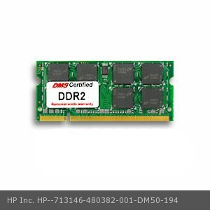 0784862915138 - DMS COMPATIBLE/REPLACEMENT FOR HP INC. 480382-001 PAVILION DV7-1092EO 2GB DMS CERTIFIED MEMORY 200 PIN DDR2-800 PC2-6400 256X64 CL6 1.8V SODIMM - DMS