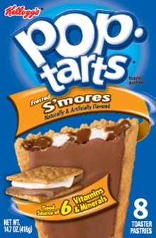0786173829067 - POP-TARTS FROSTED S'MORES 8 COUNT (2PACK) BY KELLOGG'S