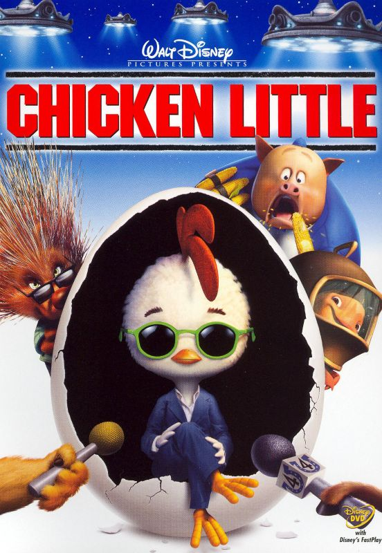 0786936246803 - DVD CHICKEN LITTLE WITH FASTPLAY