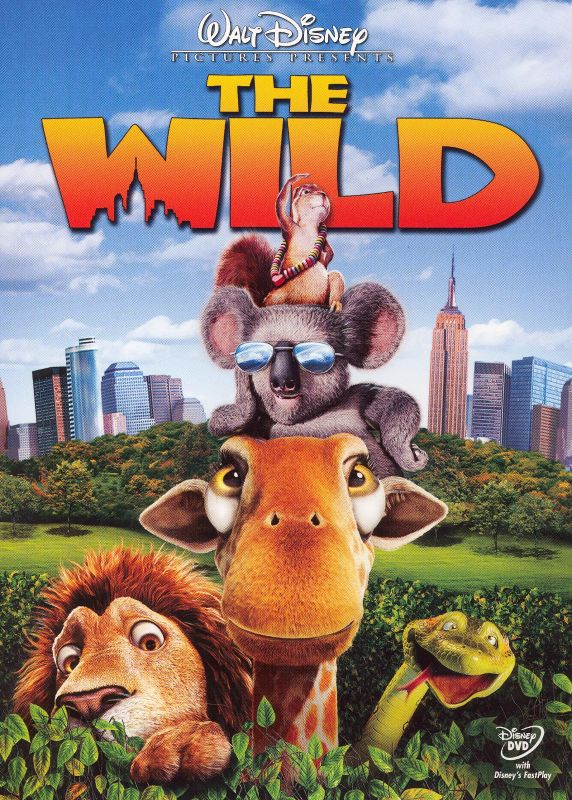 0786936248951 - DVD THE WILD WITH FASTPLAY