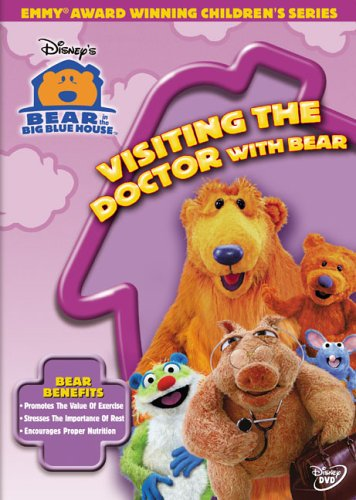 0786936267587 - VISITING THE DOCTOR WITH BEAR (DVD)