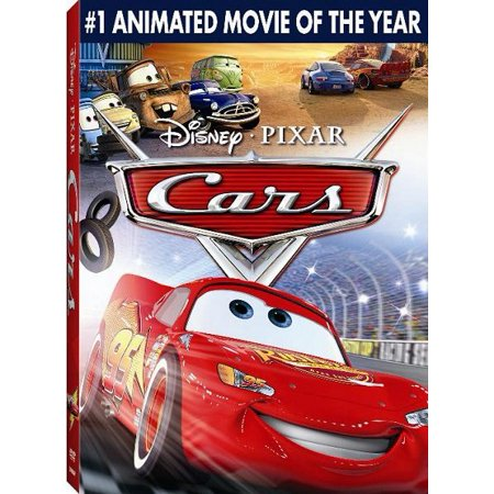 0786936708103 - DVD CARS FULL SCREEN