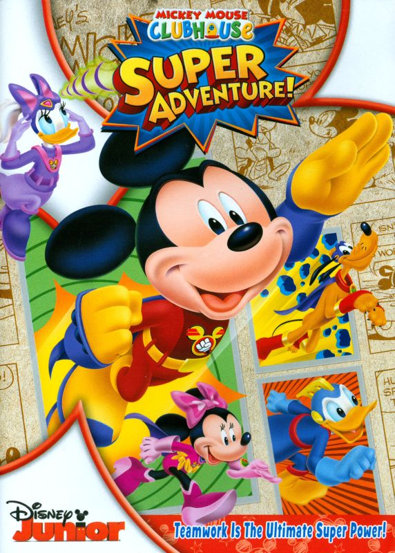 0786936838121 - DISNEY MICKEY MOUSE CLUB HOUSE: SUPER ADVENTURE DVD