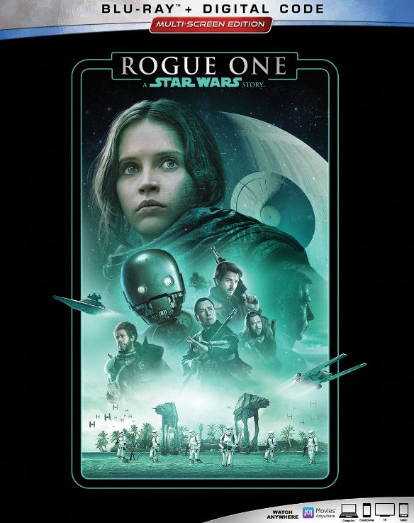 0786936865875 - ROGUE ONE: A STAR WARS STORY (BLU-RAY)