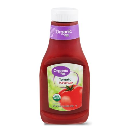 0078742008042 - (2 PACK) GREAT VALUE ORGANIC TOMATO KETCHUP, 38 OZ
