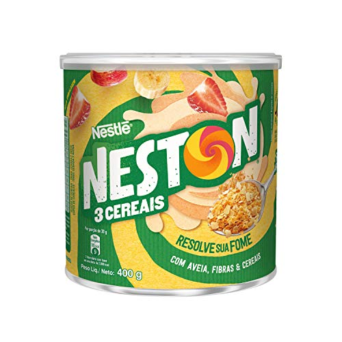 7891000011300 - NESTON FLOCOS DE TRES CEREAIS 400G NESTLE