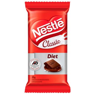7891000098844 - CHOCOLATE NESTLE 25GR CLASSIC DIET