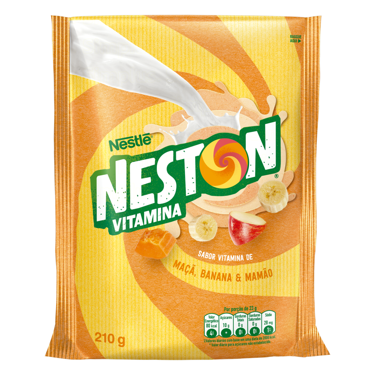7891000101674 - VITAMINA NESTON MAMAO/MACA/BANANA