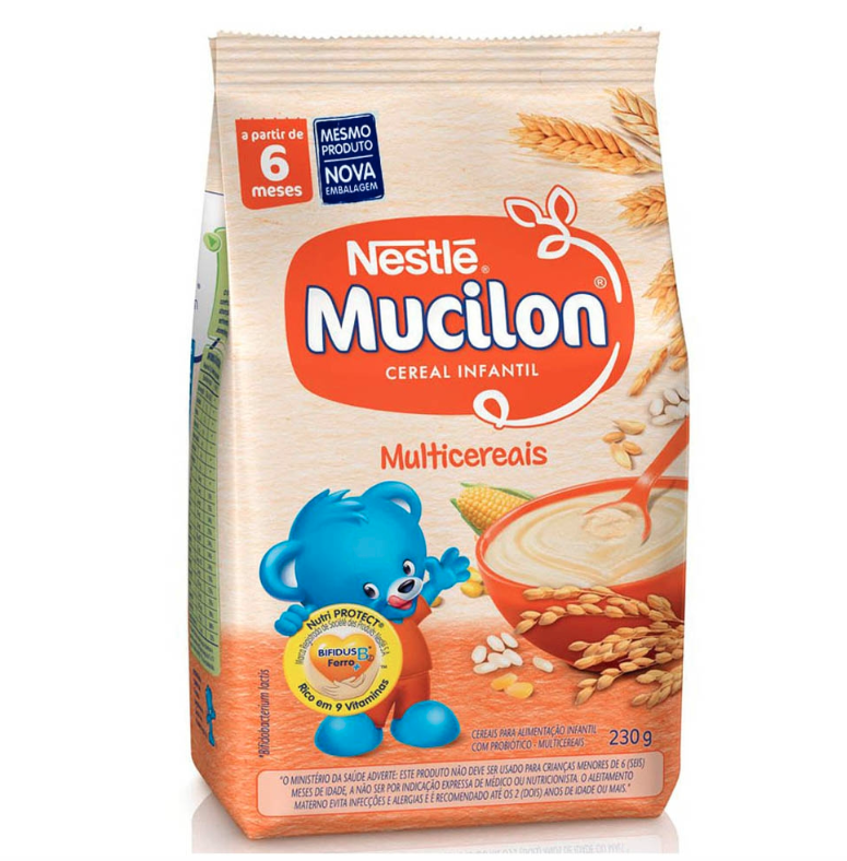 7891000116258 - MUCILON REFIL MULTI CEREAIS 230G NESTLE