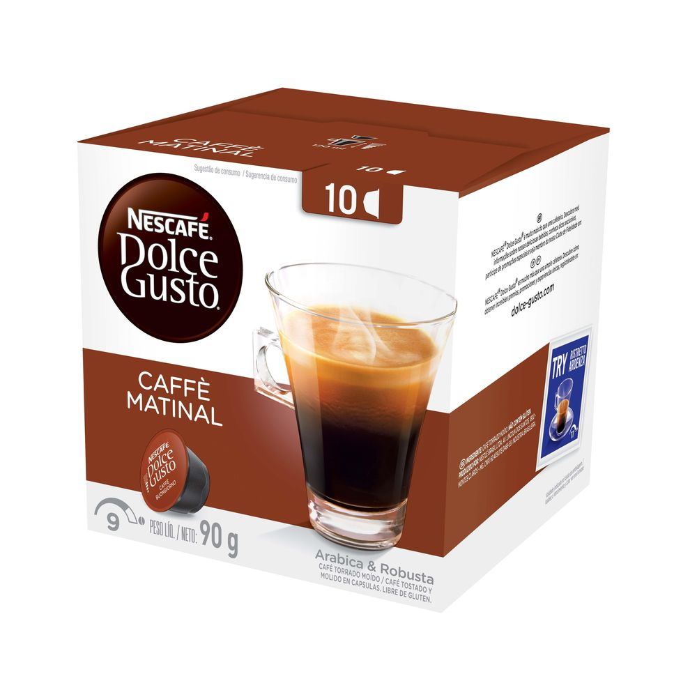 7891000243749 - NESCAFE DOLCE GUSTO 90G MATINAL