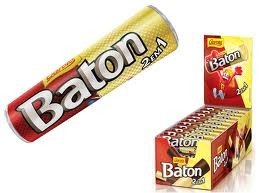 7891008679823 - BATON CHOCOLATE BRANCO & PRETO (PACK OF 30) || BATON WHITE AND DARK CHOCOLATE (PACK OF 30)