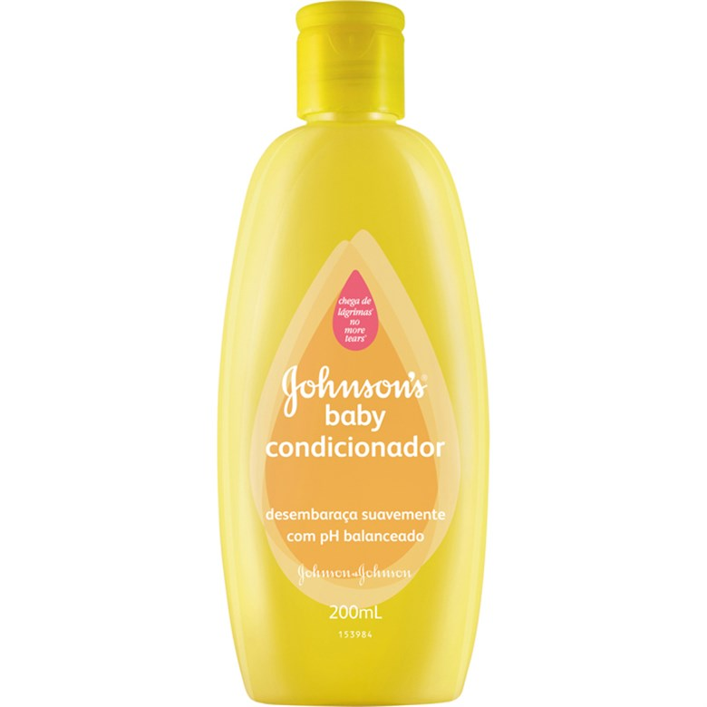 7891010030452 - CONDICIONADOR JOHNSONS BABY FRASCO 200ML