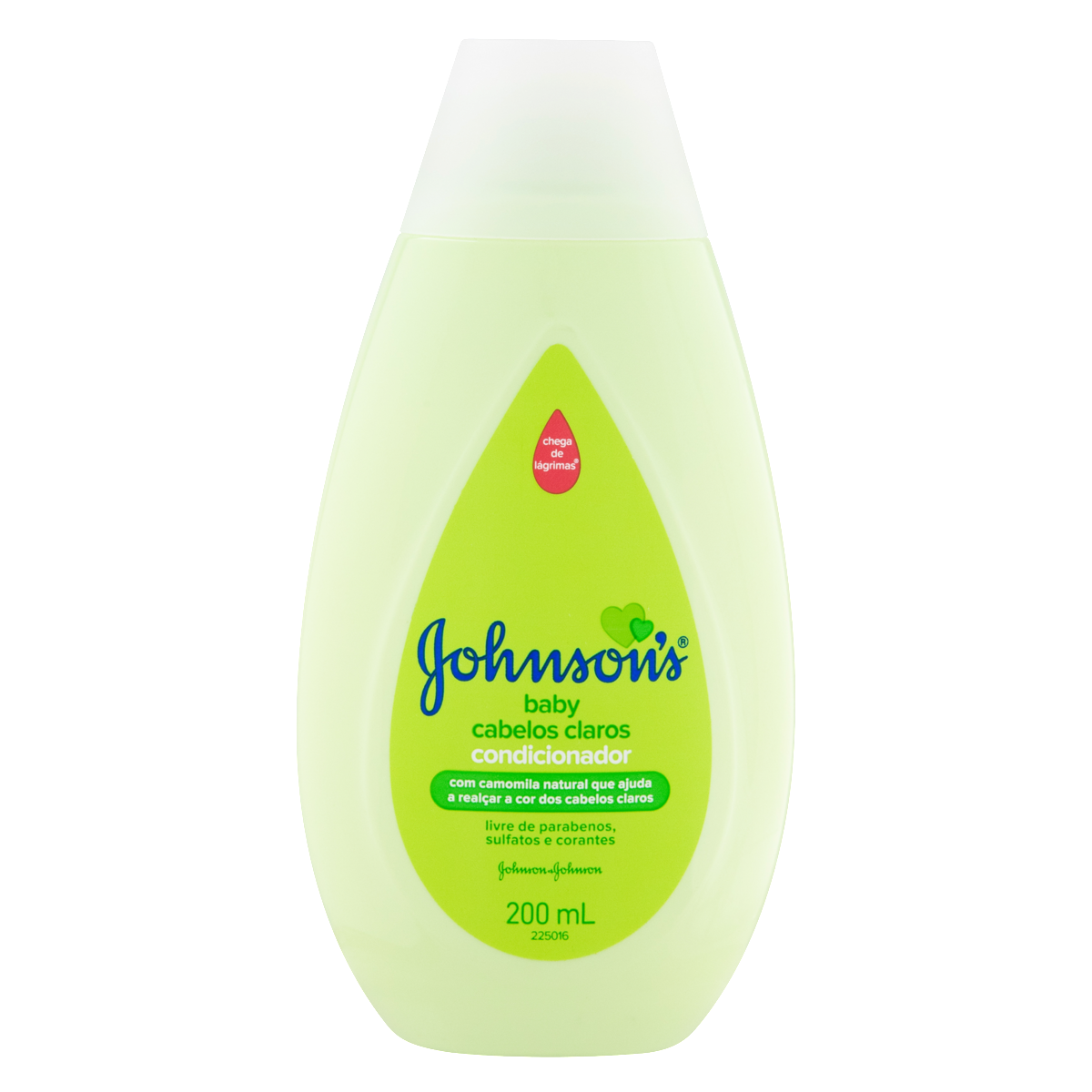 7891010030476 - CONDICIONADOR CAMOMILA JOHNSON'S BABY FRASCO 200ML