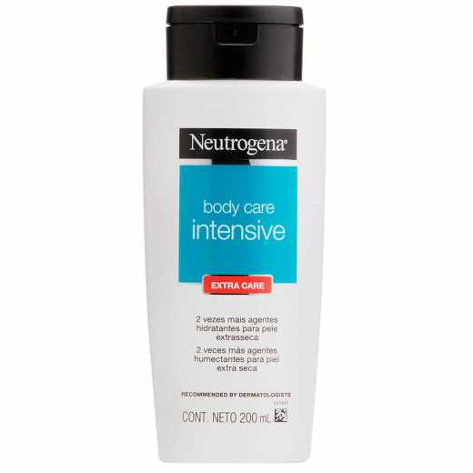 7891010099473 - HIDRATANTE EXTRA CARE NEUTROGENA BODY CARE INTENSIVE FRASCO 200ML