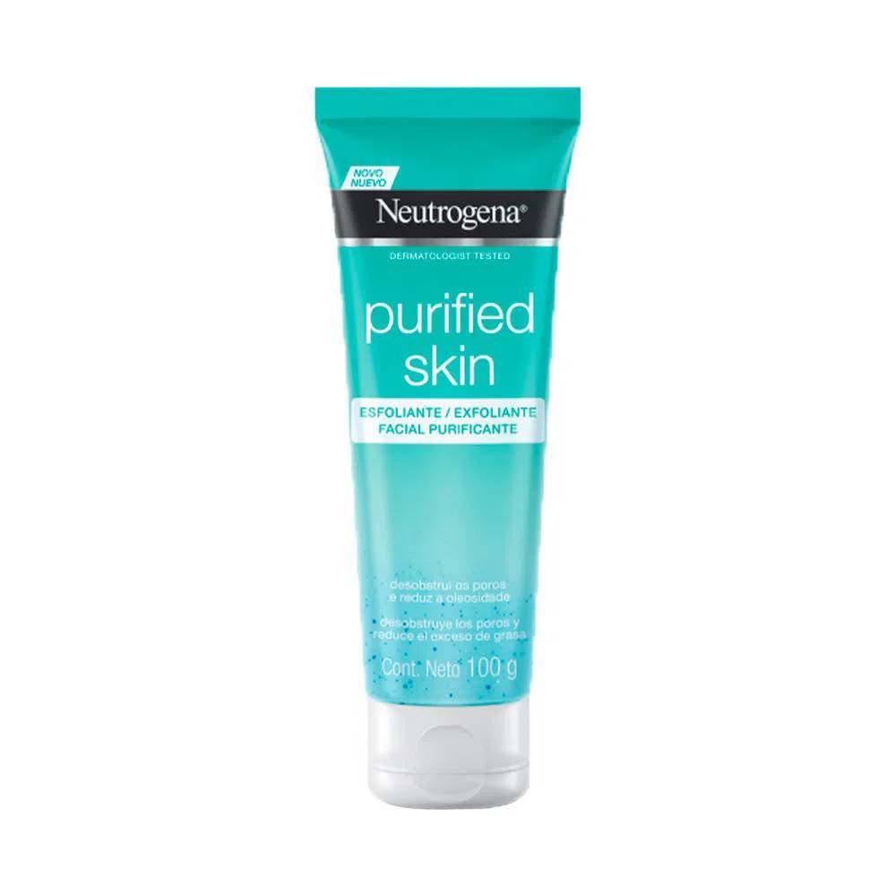 7891010245191 - ESFOLIANTE PURIFICANTE FACIAL NEUTROGENA PURIFIED SKIN BISNAGA 100G