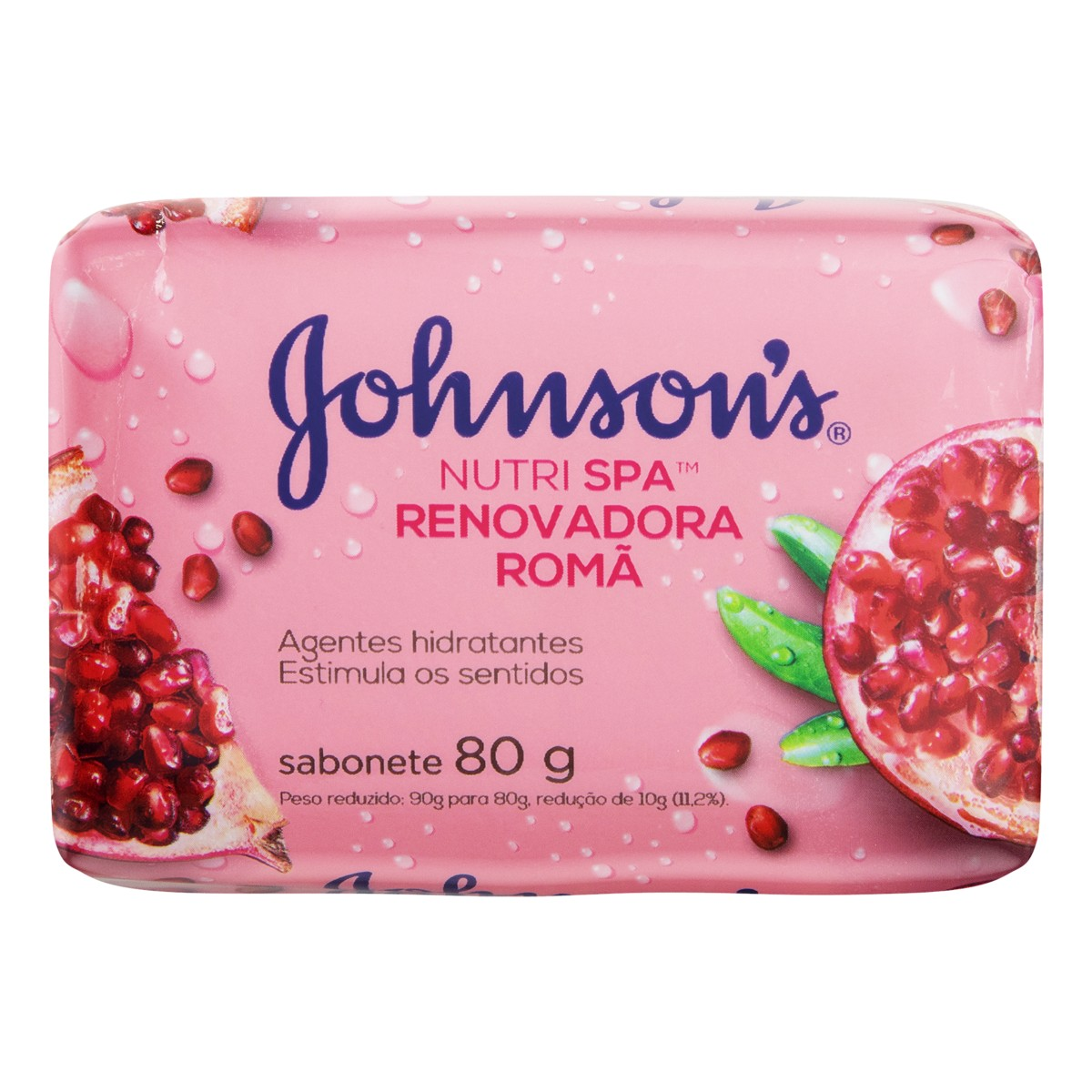 7891010247423 - SABONETE EM BARRA RENOVADORA ROMÃ JOHNSONS NUTRI SPA CARTUCHO 80G