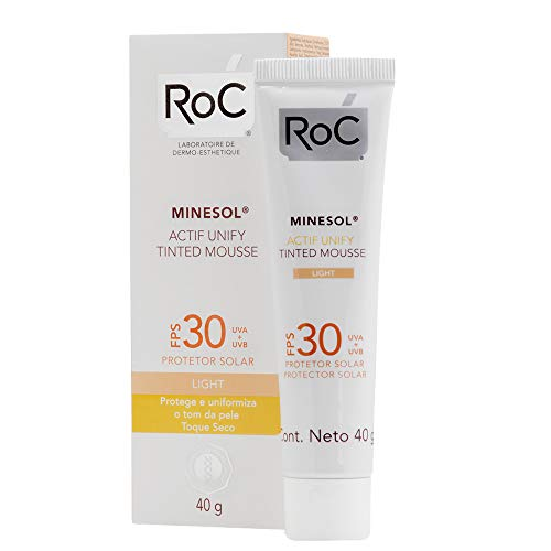 7891010607418 - PROTETOR SOLAR ROC MINESOL ACTIF UNIFY TINTED MOUSSE