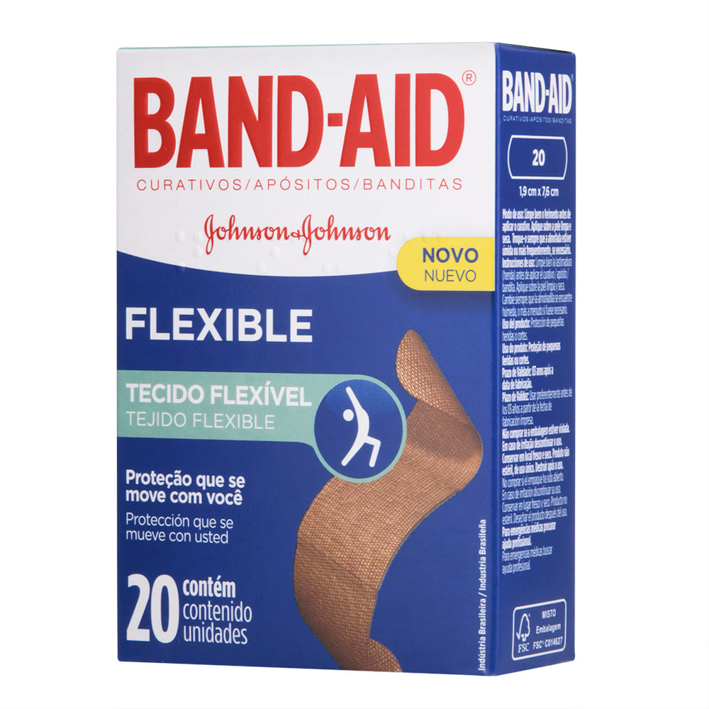 7891010668624 - BAND AID FLEXIBLE