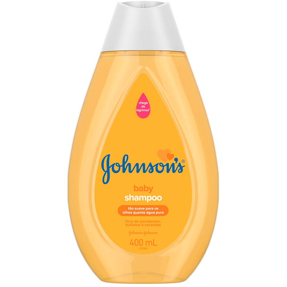7891010800048 - SHAMPOO JOHNSONS BABY FRASCO 400ML