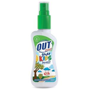 7891022856255 - REPELENTE OUT INSET KIDS SPRAY
