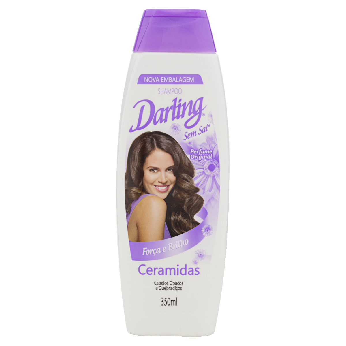 7891024181072 - SHAMPOO ORIGINAL DARLING CERAMIDAS FRASCO 350ML