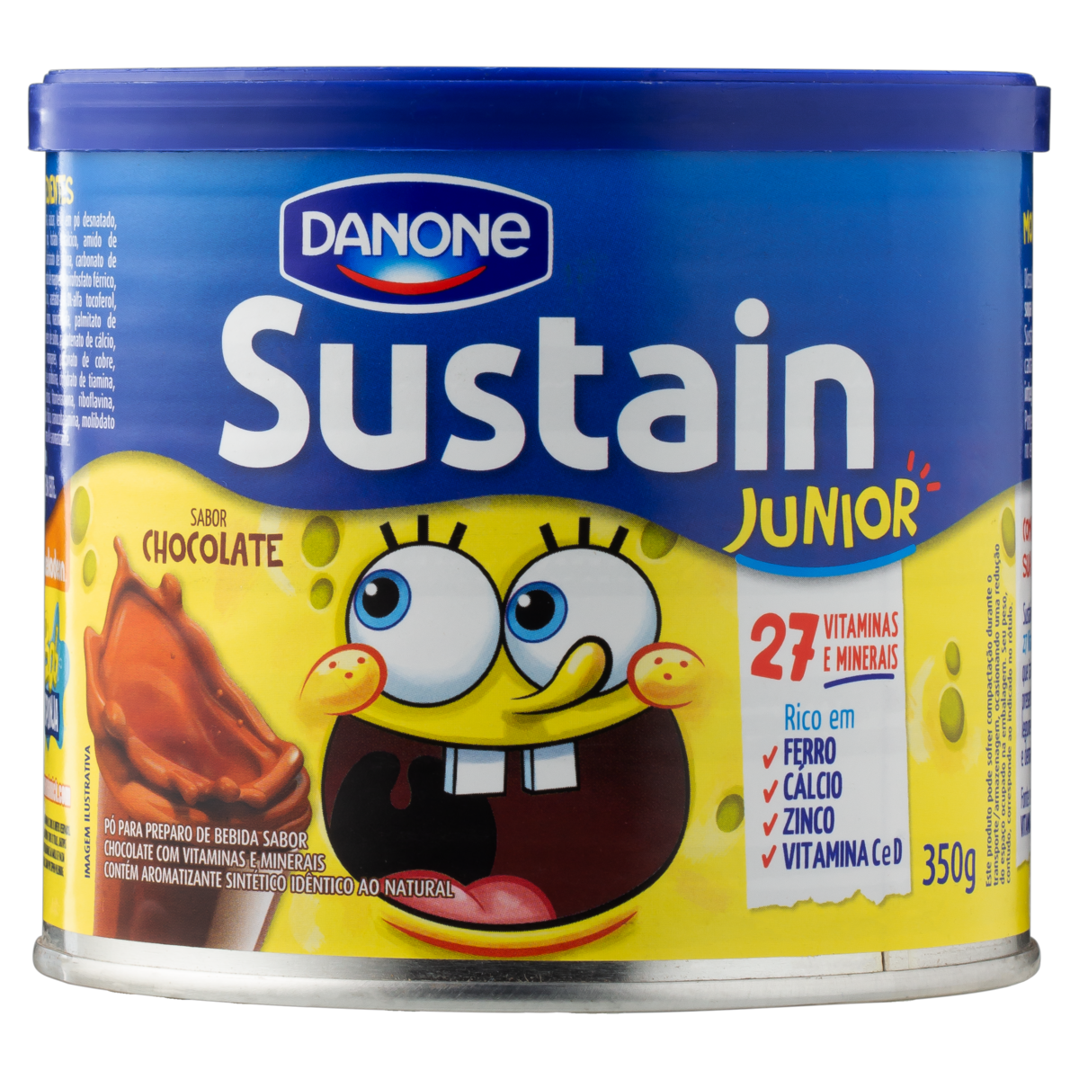 7891025700661 - SUSSTAIN JUNIOR CHOCOLATE. 350 GR