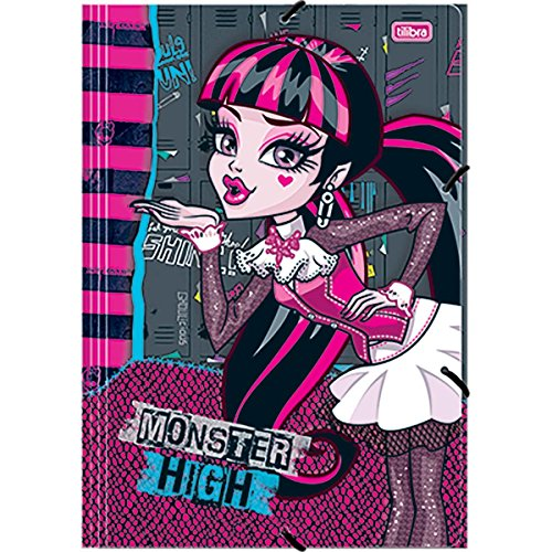 7891027140809 - PASTA A/E TIL MONSTER HIGH