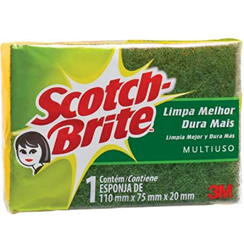 7891040001057 - ESPONJA SCOTCH BRITE MULTIUSO C/10