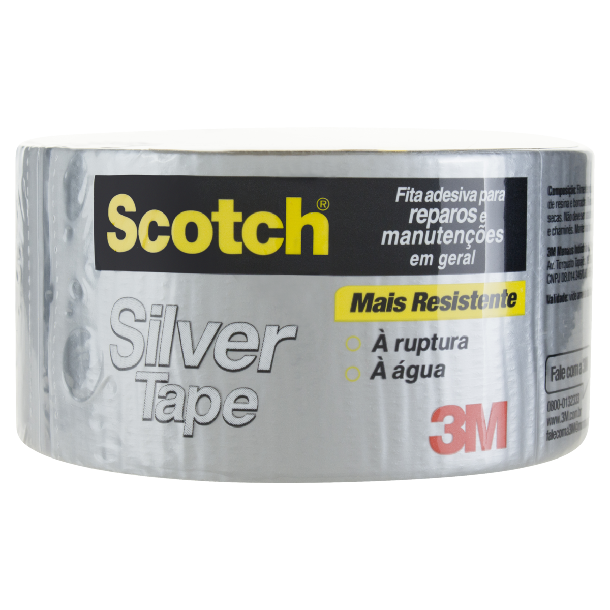 7891040119110 - FITA SILVER TAPE CINZA SCOTCH 45MM X 5M