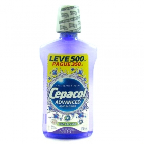 7891058018139 - ENXAGUANTE BUCAL CEPACOL PLUS ADVANCED