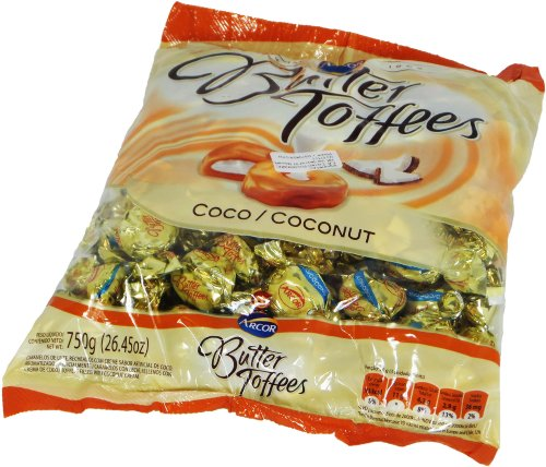 7891118009725 - CARAMELO BUTTER TOFFEES ARCOR COCO