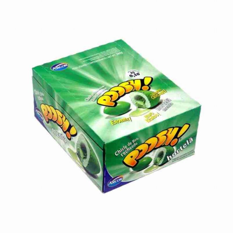 7891118013593 - CHICLE SABOR HORTELA 200G POOSH