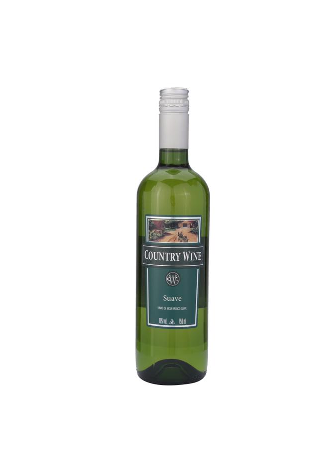7891141012044 - VINHO BRANCO COUNTRY WINE SUAVE 750ML